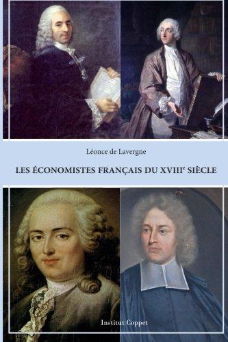 9781507501962: Les economistes francais du XVIIIeme siecle