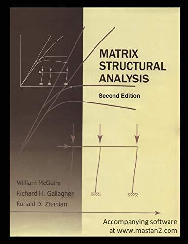 9781507585139: Matrix Structural Analysis: Second Edition