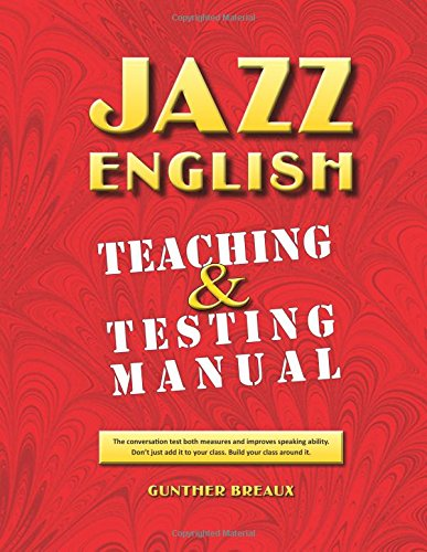 9781507589786: Jazz English Teaching & Testing Manual