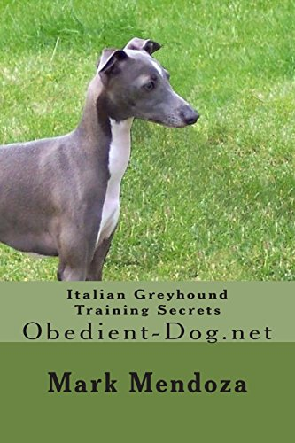 Italian Greyhound Training Secrets: Obedient-Dog.net: Mark Mendoza