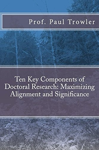 Ten Key Components of Doctoral Research: Maximizing Alignment and Significance (Doctoral Research ...