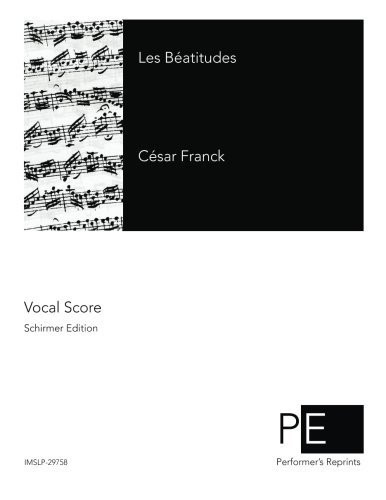 Les Beatitudes: Franck, Cesar