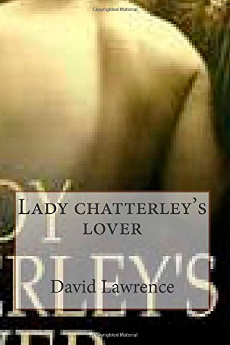 9781507652053: Lady chatterley's lover