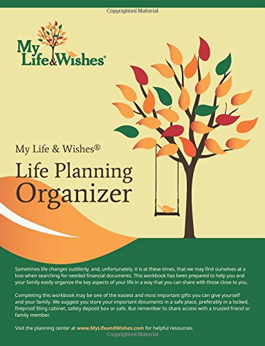 9781507665916: My Life and Wishes Organizer