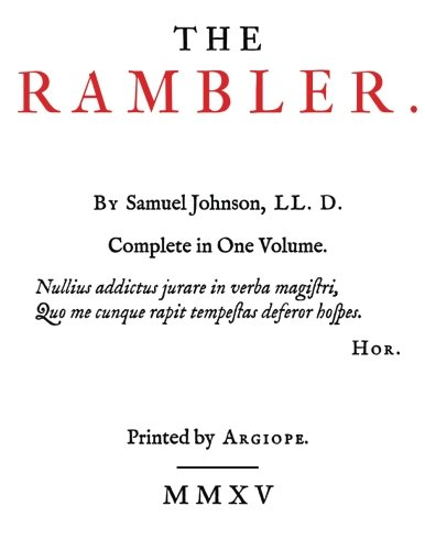 9781507724798: The Rambler