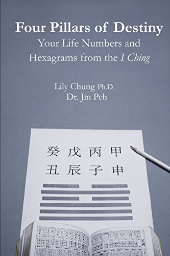 9781507757512: Four Pillars of Destiny Your Life Numbers and Hexagrams from the I Ching