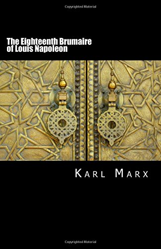 9781507768075: The Eighteenth Brumaire of Louis Napoleon