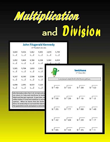 9781507798966: Multiplication and Division
