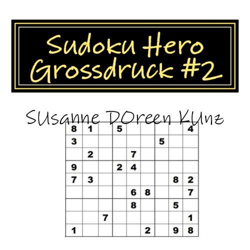 9781507817377: Sudoku Hero Grossdruck #2: Volume 2 (Große Sudokus)
