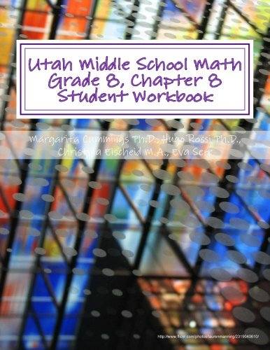 9781507846070: Utah Middle School Math Grade 8, Chapter 8 Student Workbook: A University of Utah Project in Association with the Utah State Office of Education (Utah Middle School Math Project)