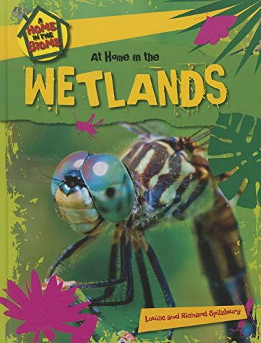 9781508145714: At Home in the Wetlands (Home in the Biome)