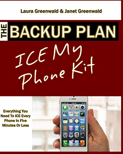 9781508420200: The Backup Plan ICE My Phone Kit