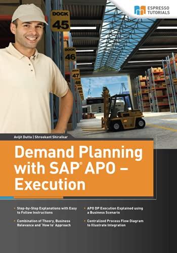 Demand Planning with SAP APO - Execution: Avijit Dutta