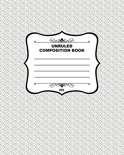 9781508452485: Unruled Composition Book 005: Fusello Notebooks - A Top Quality Brand