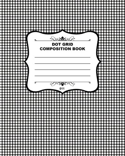 9781508514626: Dot Grid Composition Book 011: Fusello Notebooks - A Top Quality Brand