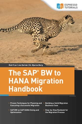 9781508527619: The SAP BW to HANA Migration Handbook