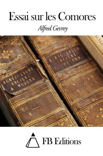 9781508538424: Essai sur les Comores (French Edition)