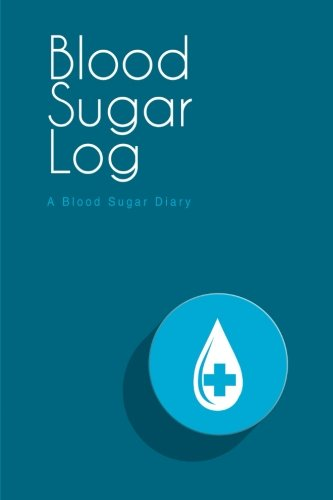 "Blood Sugar Log: A Blood Sugar Diary (6""x9""): Readers, Lunar Glow"