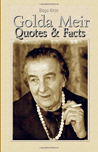9781508586685: Golda Meir: Quotes & Facts