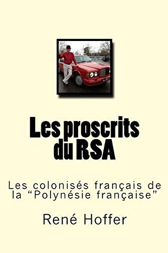 9781508594949: Les proscrits du RSA: Les colonisés français de la
