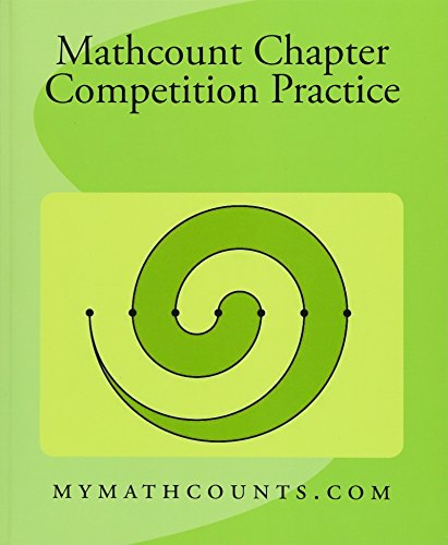 Mathcounts Chapter Competition Practice (Paperback): Yongcheng Chen, Sam