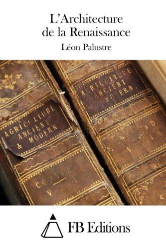 9781508701187: L'Architecture de la Renaissance