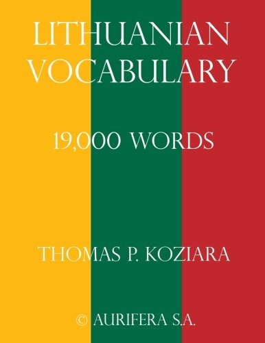 9781508741084: Lithuanian Vocabulary