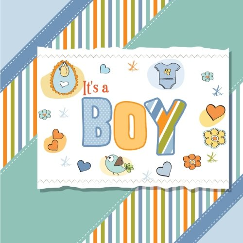9781508812531: It's a Boy: Baby Book and Baby Scrapbook for Baby's First Year