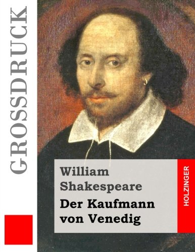 9781508875536: Der Kaufmann von Venedig (Großdruck) (German Edition)