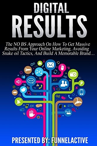 9781508881117: Digital Results: The No B.S. Approach On How To Get Massive Results From Your Online Marketing, Avoiding Snake Oil Tactics, And Build A Memorable Brand...