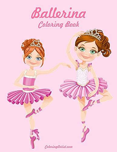9781508885436: Ballerina Coloring Book