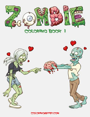 9781508889984: Zombie Coloring Book 1 (Volume 1)