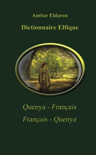 9781508897187: Dictionnaire Français-Quenya Quenya-Français pocket (French Edition)