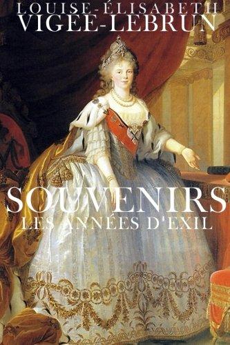 9781508900825: Souvenirs: Les années d'exil