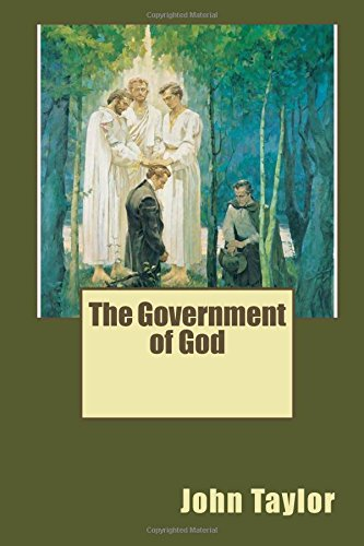 9781508930198: The Government of God