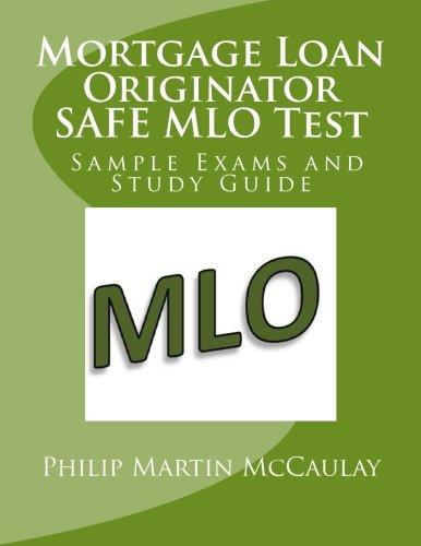 9781508951438: Mortgage Loan Originator SAFE MLO Test Sample Exams and Study Guide