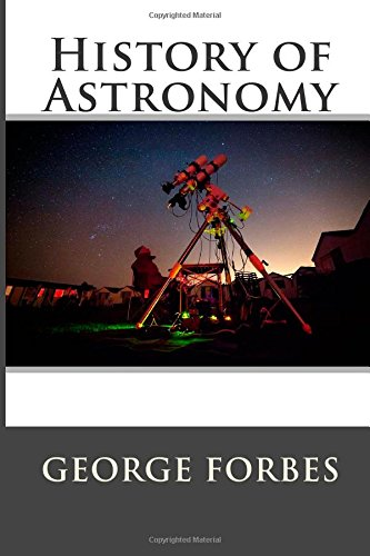 9781508971900: History of Astronomy