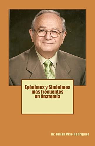 Eponimos y Sinonimos Mas Frecuentes En Anatomia: Dr Julian Viso