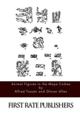 9781508988847: Animal Figures in the Maya Codices