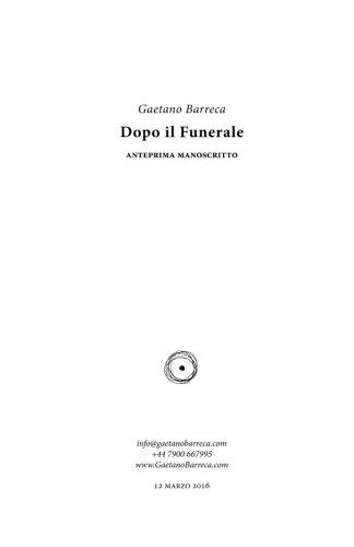 9781508994169: Dopo il funerale (Italian Edition)