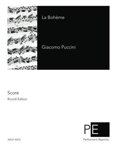 9781508995975: La Bohème (Italian Edition)
