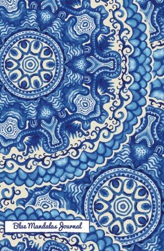 9781509100026: Blue Mandalas Journal: A Totable Notable Journal - Diary - Notebook