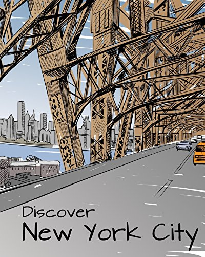 9781509101375: Discover New York City: Destination Relaxation (Color Your World Coloring Books)