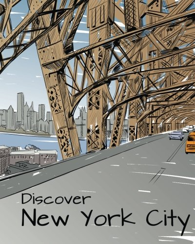 9781509101382: Discover New York City: Destination Relaxation (Colour Your World Colouring Books)