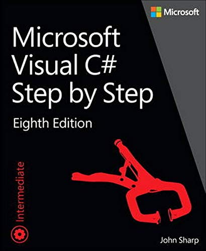 9781509301041: Microsoft Visual C# Step by Step (8th Edition) (Developer Reference)