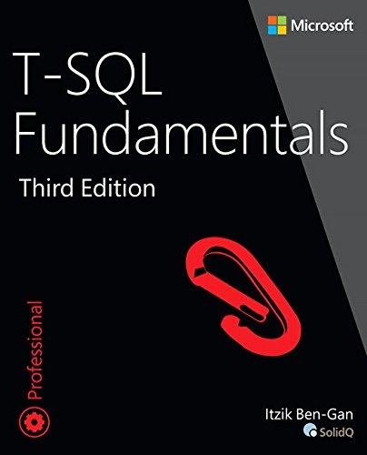 9781509302000: T-SQL Fundamentals [Lingua inglese]