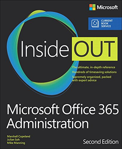 9781509302055: Microsoft Office 365 Administration Inside Out (Includes Current Book Service)