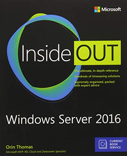 9781509302482: Windows Server 2016 Inside Out (includes Current Book Service)