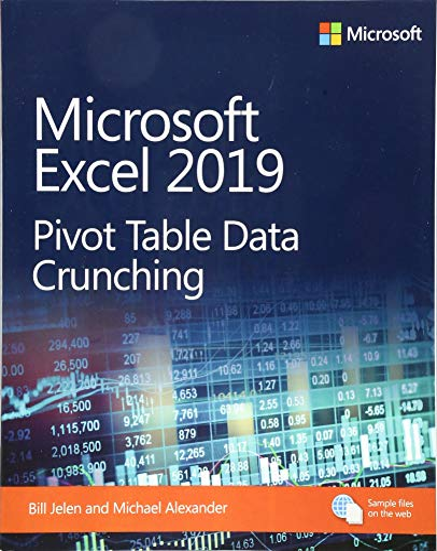 9781509307241: Microsoft Excel 2019 Pivot Table Data Crunching (Business Skills)