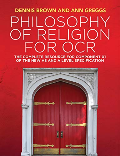 9781509517985: Philosophy of Religion for OCR: The Complete Resource for Component 01 of the New AS and A Level Specification